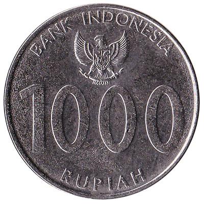 Indonesia 1000 Rupiah coin