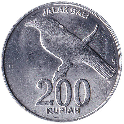 Indonesia 200 Rupiah Coin Exchange