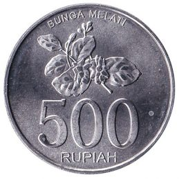 Indonesia 500 Rupiah coin