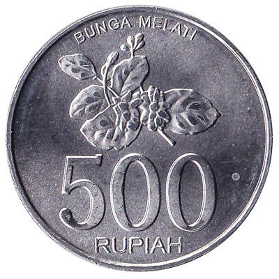 Indonesia 500 Rupiah Coin Exchange
