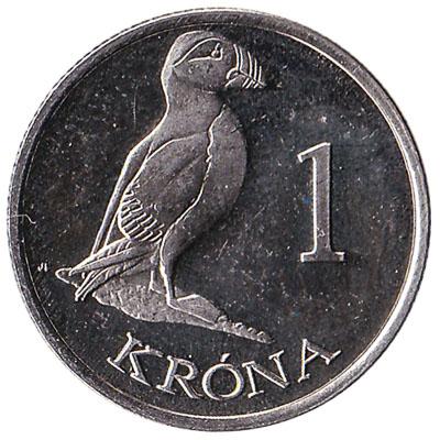 1 Faroese Krona coin