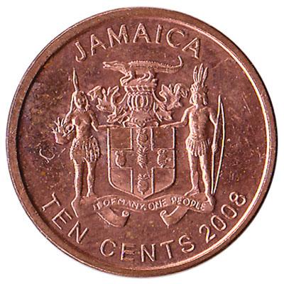 10 cents coin Jamaica