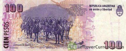 100 Argentine Pesos banknote 2nd Series (Julio Argentino Roca)