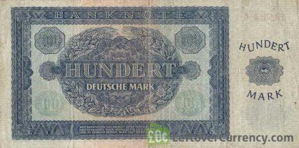 100 DDR Mark banknote Deutschen Notenbank (1948)