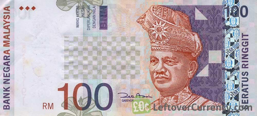 100 Malaysian Ringgit banknote (3rd series)