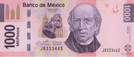 1000 Mexican Pesos banknote (Series F)