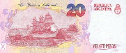 20 Argentine Pesos banknote 1st Series (Juan Manuel de Rosas)