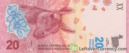 20 Argentine Pesos banknote 4th Series (Guanaco)