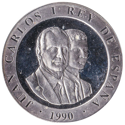 2000 Spanish Pesetas commemorative coin