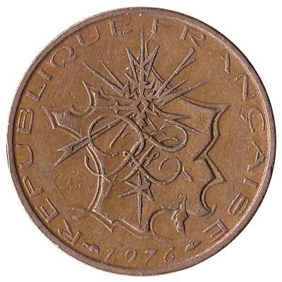 France 10 Franc coin (nickel-brass)