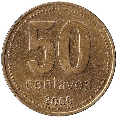 50 Centavos coin Argentina