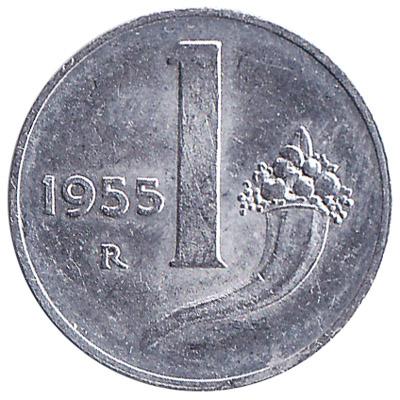 1 Italian Lira coin