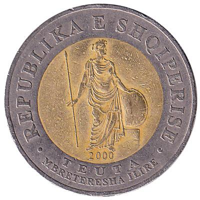 100 Albanian Leke coin