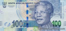 100 South African Rand banknote (Madiba 100th birthday)