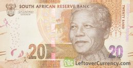 20 South African Rand banknote (Madiba 100th birthday)