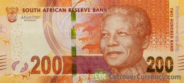 200 South African Rand banknote (Madiba 100th birthday)