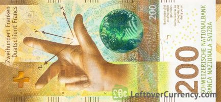 200 Swiss Francs banknote (9th Series)