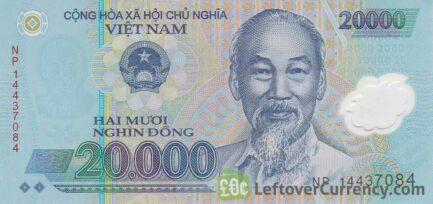 20,000 Vietnamese Dong banknote