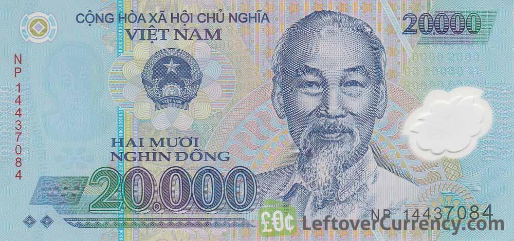 20 000 Vietnamese Dong Banknote