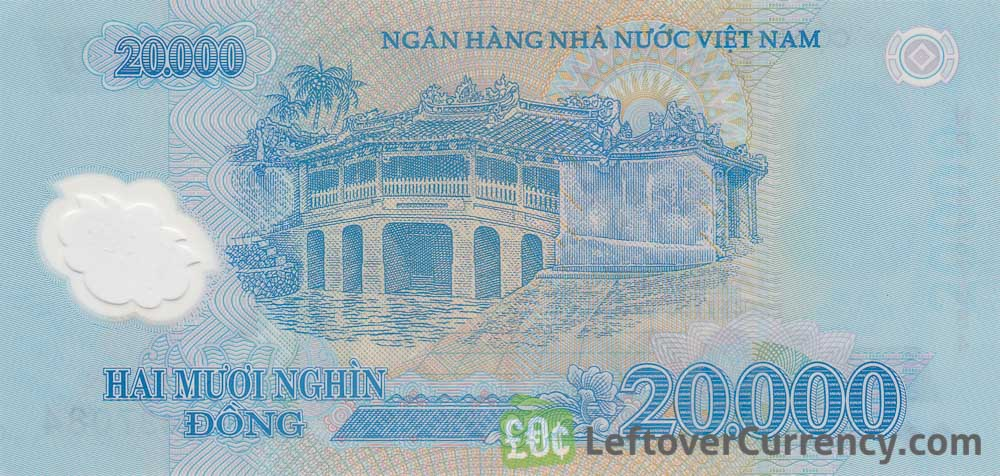 20 000 Vietnamese Dong Banknote Exchange Yours For Cash Today