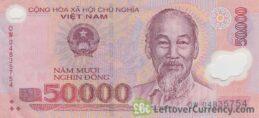 50,000 Vietnamese Dong banknote