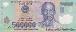 500,000 Vietnamese Dong banknote