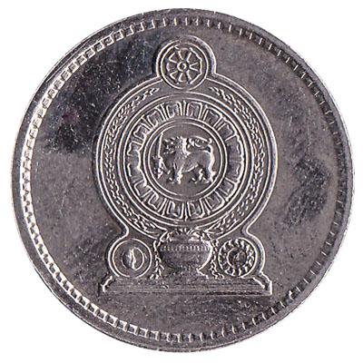 50 Cents coin Sri Lanka