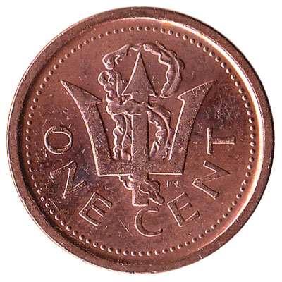 1 cent coin Barbados