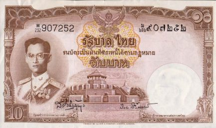 10 Thai Baht banknote (9th Series)