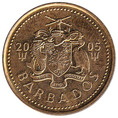5 cents coin Barbados