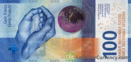 100 Swiss Francs banknote (9th Series)