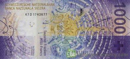 1000 Swiss Francs banknote (9th Series)