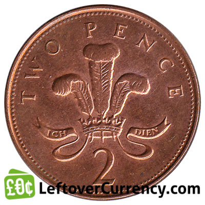 2 pence coin legal tender