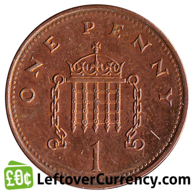 one penny legal tender