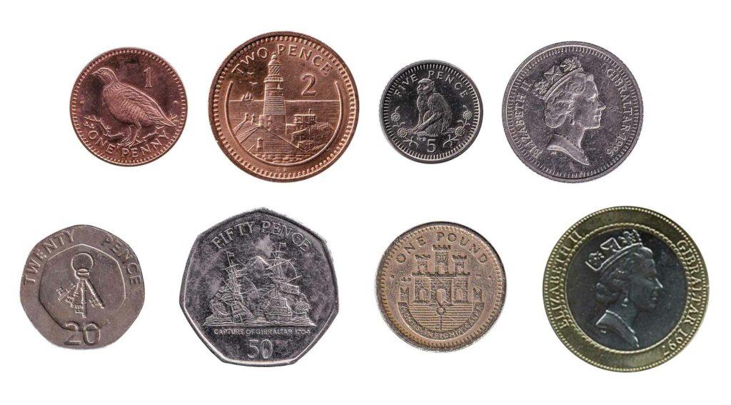 Gibraltar coins legal tender UK