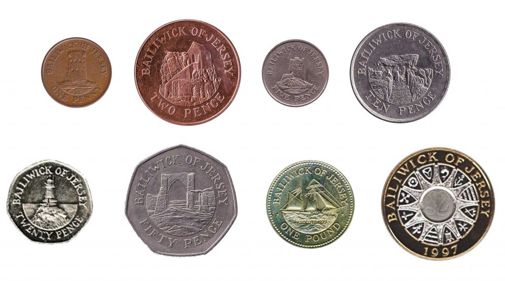 Jersey pound coins legal tender UK
