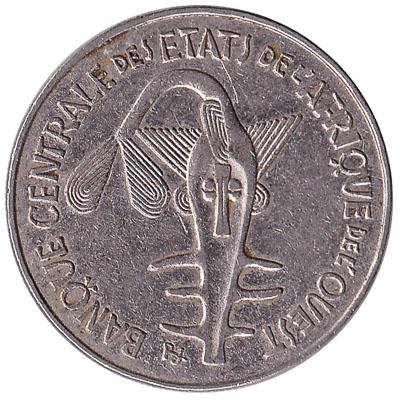 100 FCFA coin West Africa