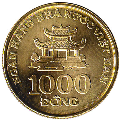 1000 Dong Coin Vietnam Exchange Yours For Cash Today