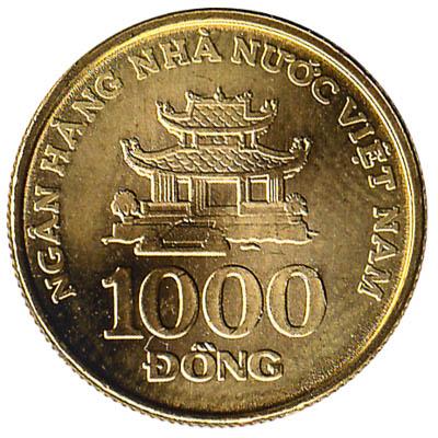 1000 Dong coin Vietnam