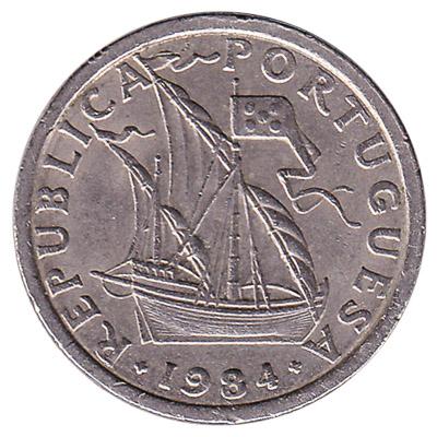 2.5 Portuguese Escudos coin