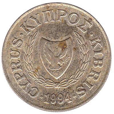 20 cents coin Cyprus (Zeno of Citium)