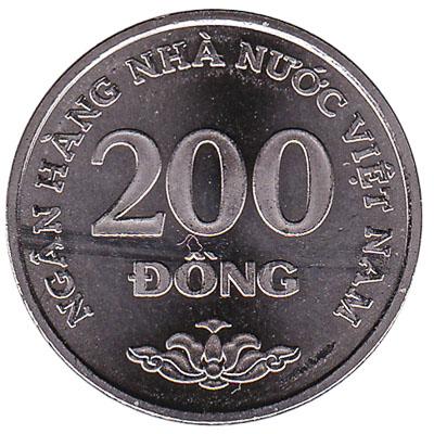 200 Dong coin Vietnam