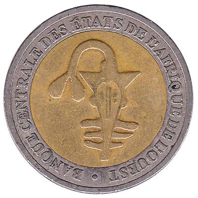 200 FCFA coin West Africa