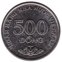 500 Dong coin Vietnam