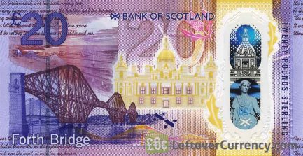 Bank of Scotland 20 Pounds banknote (2019 series)