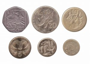 Cypriot Pound coins