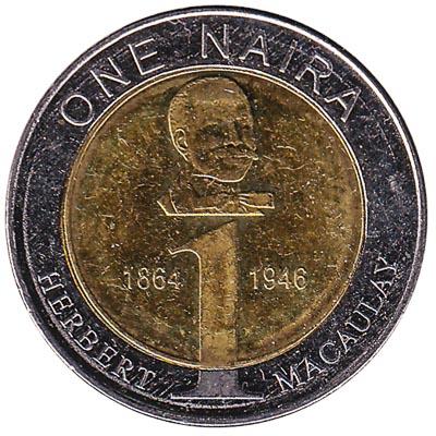 1 Nigerian Naira coin