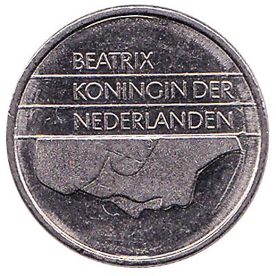 10 cent coin (Beatrix)
