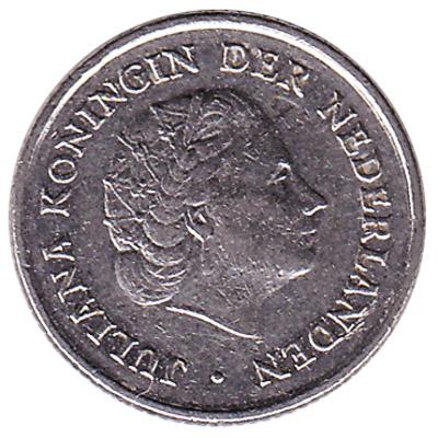 10 cent coin (Juliana)