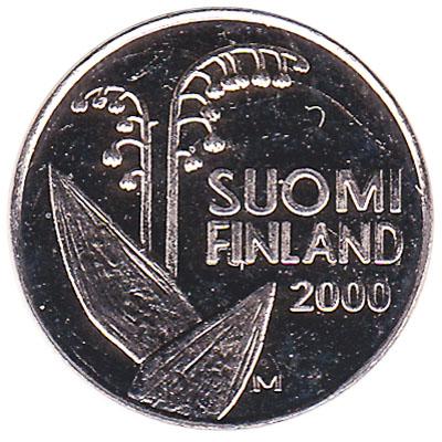 10 pennia coin Finland (cupronickel)